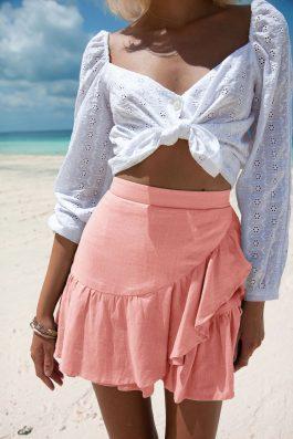 Lola-Skirt-Peach-Pink-Colour