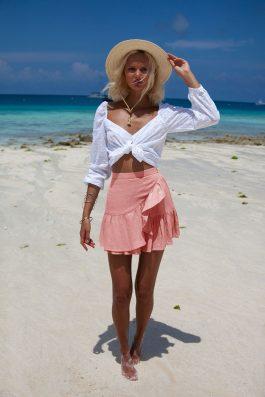 Lola-skirt-in-Zanzibar-Peach-Colour