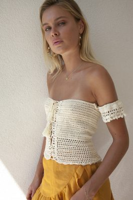 Palm Collective crochet top_1