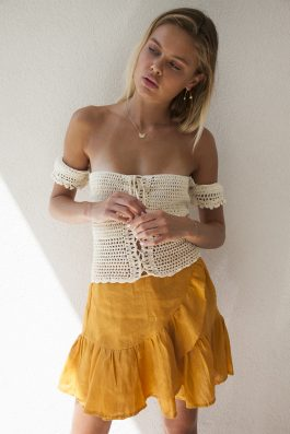 Palm Collective crochet top bohemian crochet gypsy top clothing