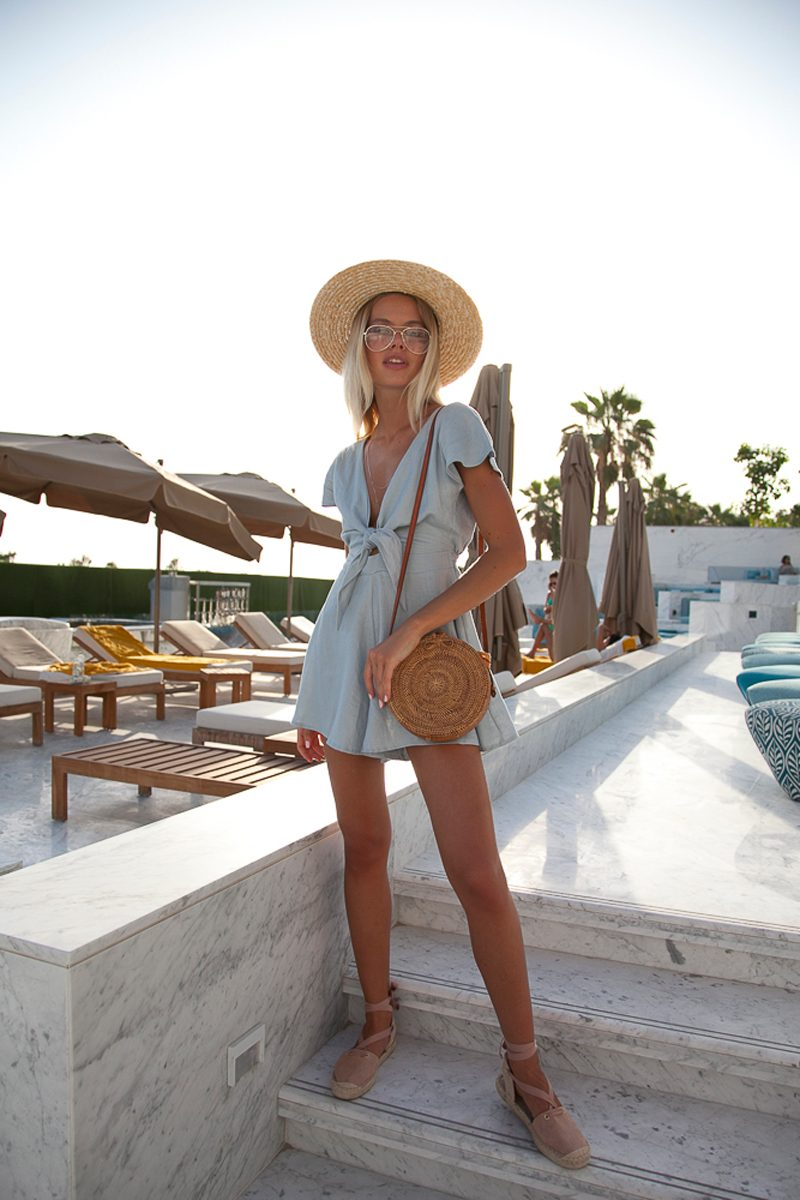 4f7442092a Must have rompers to wear in Italy or Positanoon your summer vacation by  Palm-Collective