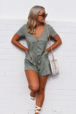 Bridgett-Linen-Playsuit-Romper-by-Palm-Collective-Wholesale-Linen-Clothing-Online
