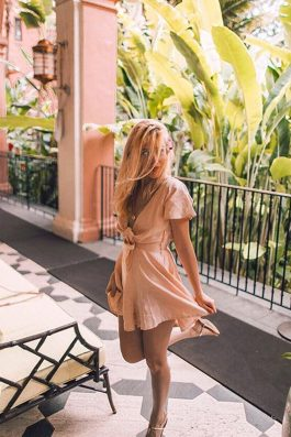Kristina-Crown-Pink-Romper-Playsuit-Linen-Label-Australia