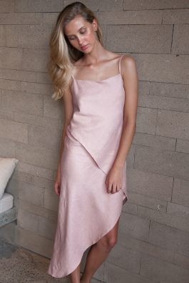ce58d8587a Kate-asymmetrical-dress-pale-pink-palm-collective-wholesale-