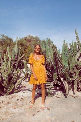 Marisole-Dress-in-Gold-Linen-Mustard