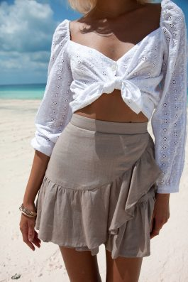 Lola-Skirt-Linen-Bone-Colour