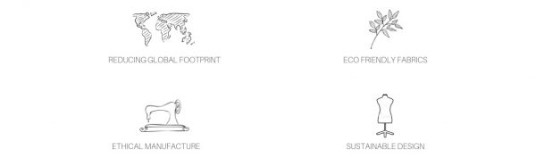 Australian sustainable fashion brand Palm Collective ethical manufacture and sustainable fabrics