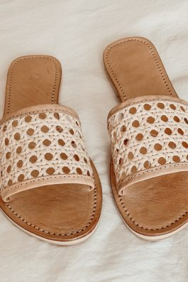 Rattan Ladies Slides Australia