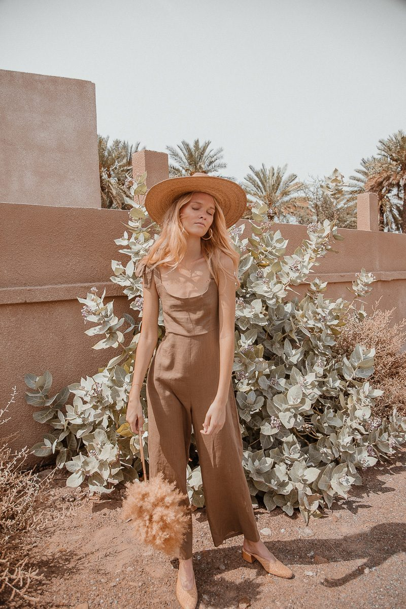 Bonnie-loose-fit-linen-jumpsuit-long-sustainable-fashion- by Palm Collective