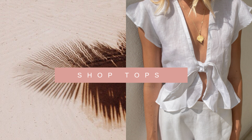shop sustainable linen tops palm collective