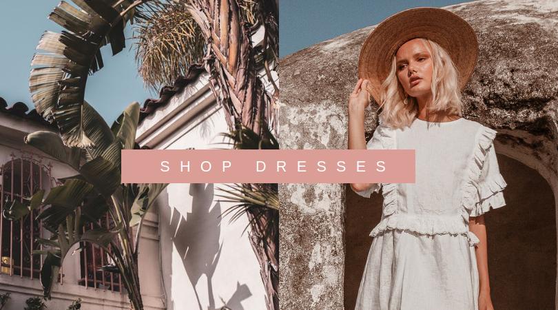 shop sustainable dresses eco fashion label linen dresses palm collective