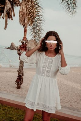 White-Cotton-Gauze-Bohemian-Summer-Dress-3