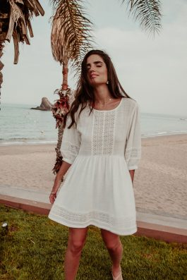 White-Cotton-Gauze-Bohemian-Summer-Dress-4
