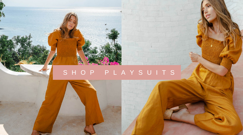 Sustainable Reformation Fabric Jumpsuits Buy Online