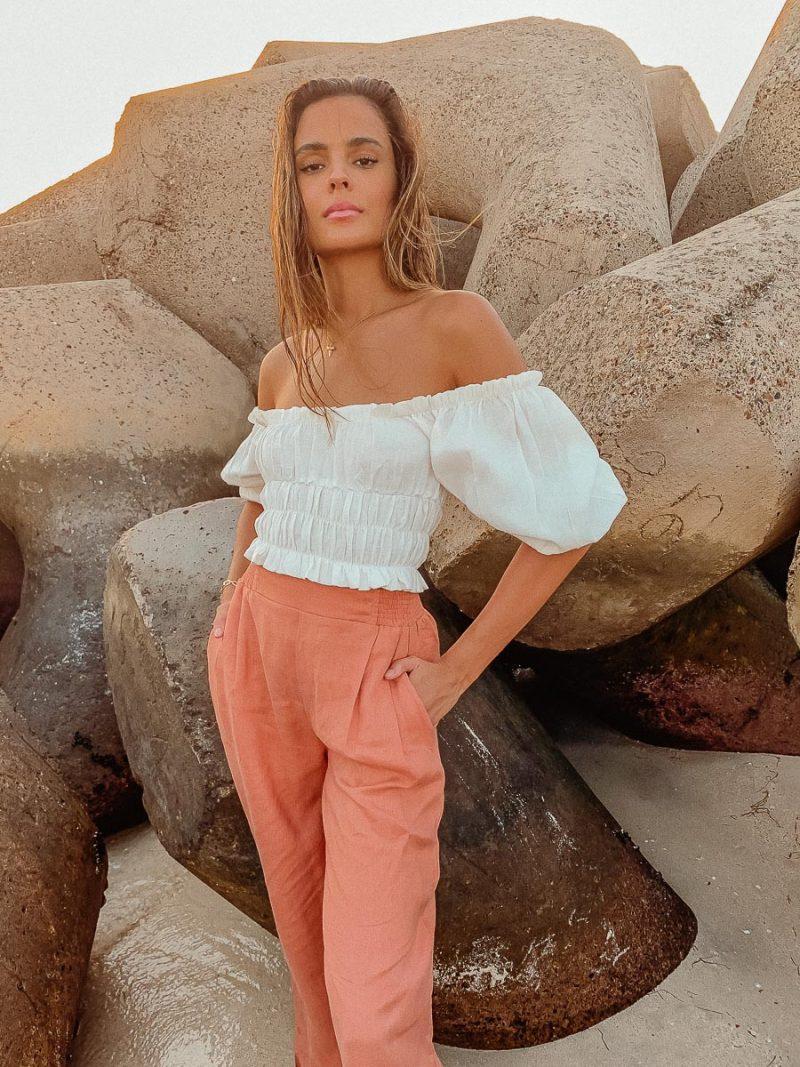 high waisted linen pants