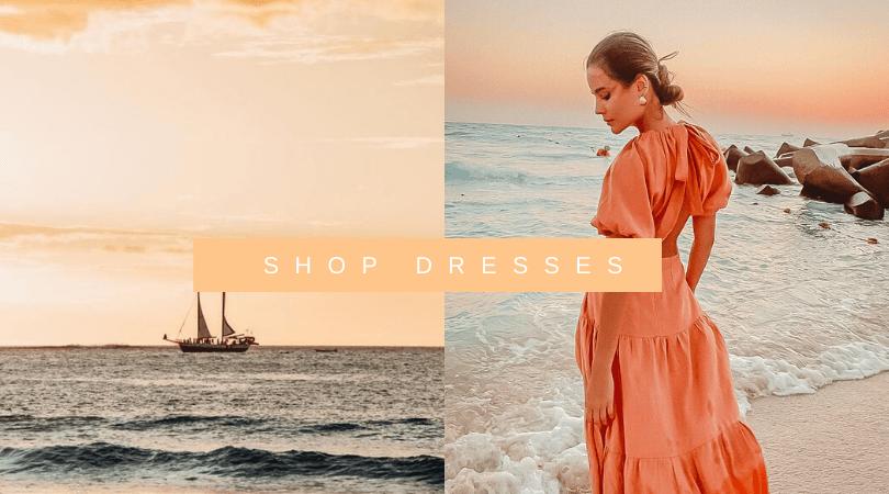 Ladies linen dresses sustainable buy online australia